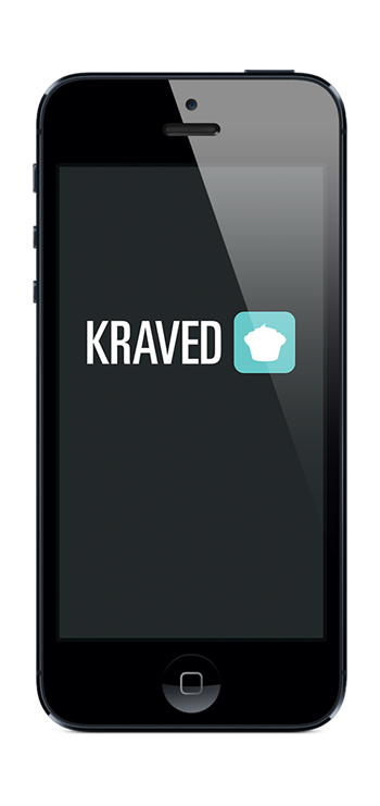 Kraved Home App Screen
